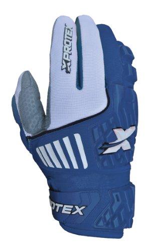 Xprotex大人用Raykr 2014保護用バッティング手袋、ロイヤル、スモール B00GV4MGEW
