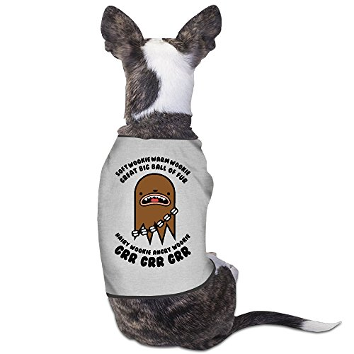 [Soft Wookie Warm Wookie Dog Clothes 100% Polyester Fiber Costumes] (Wookie Costumes)
