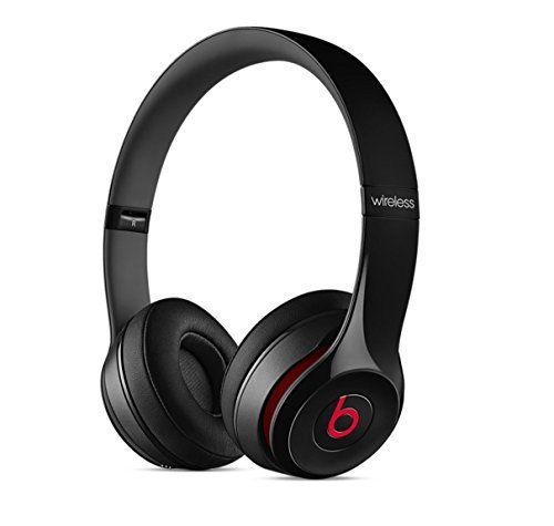Beats Solo2 Wireless On-Ear Headphone – Black (Old Model) (Refurbished)