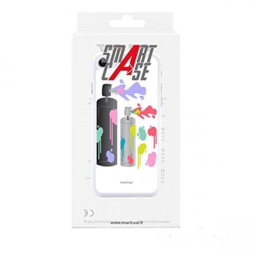 Coque + Verre Trempé pour iPhone 7 SmartCase® COLOR PILLOW