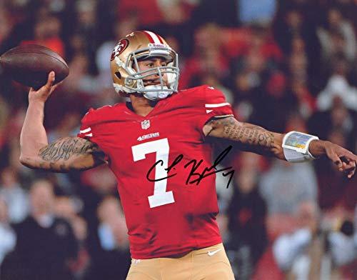 Francisco 49ers Autographed Signed 8 x 10 Photo - COA - Mint ()