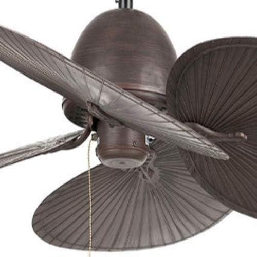 Faro Barcelona 33352 - CUBA Ventilador de techo sin luz, acero y ...