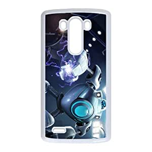 Blitzcrank LG G3 Cell Phone Case White Phone Accessories LK_729849