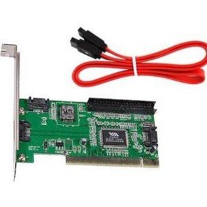 VIA VT6421A 3-Port SATA Raid & IDE Controller PCI Card