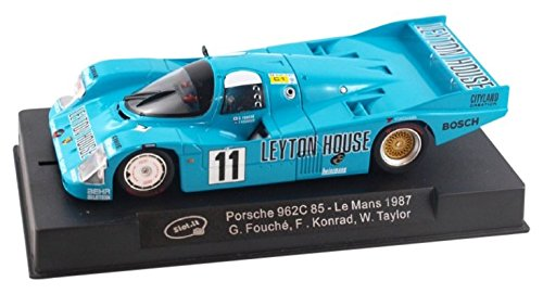 (Slot.it Porsche 962C 85 Le Mans 1987 #11 Performance Slot Car (1:32 Scale), One Size, Bright Blue)