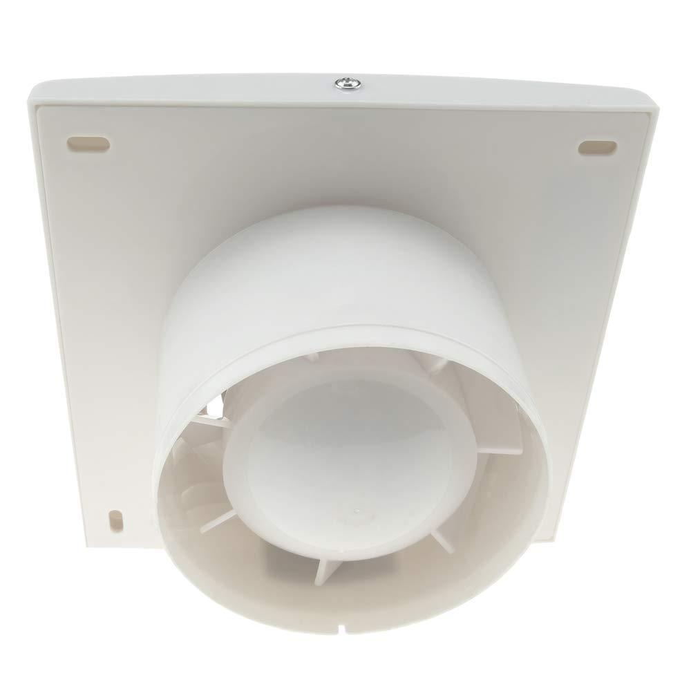 PrimeMatik - Extractor Ventilador de diámetro 105mm para Aseo Lavabo trastero Garaje: Amazon.es: Electrónica