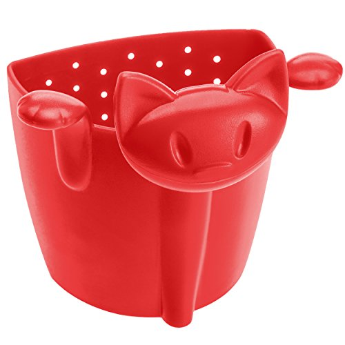 koziol MIMMI Strainer Filter raspberry