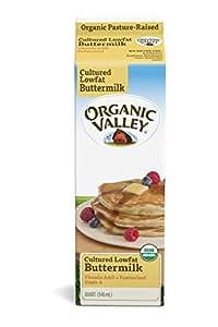Organic Valley, Organic Low Fat Cultured Buttermilk, Pasteurized, Quart, 32 oz