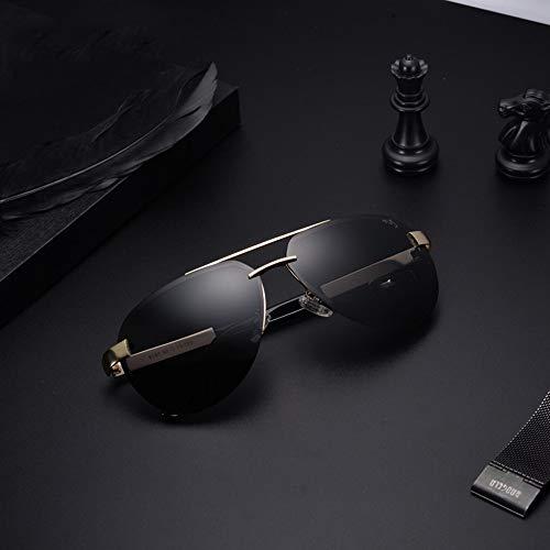 Gafas Conducción Gafas De Sol De Gafas Hombre Conducción Polarizadas para Sol Personalidad FKSW De Negro Golden black De Gafas Sol dPRCcWwdq