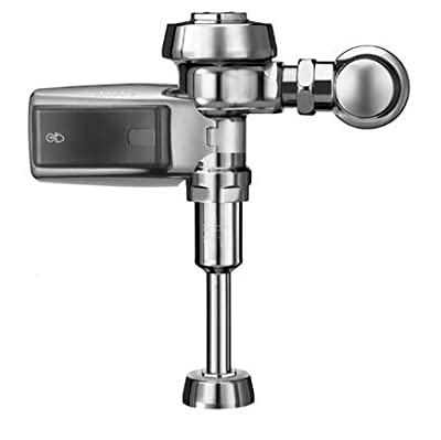 Sloan ROYAL 186-0.5 SMOOTH Royal Optima SMOOTH Exposed, Battery Powered, Automatic Urinal Flush Valve - 0.5 GPF