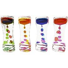 Liquid Motion Bubbler for Sensory Play, Fidget Toy, Children Activity, Desk Top, Assorted Colors