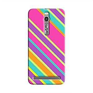 Cover it up Pop Pink Print Hard Case for Asus Zenfone 2 - Multi Color