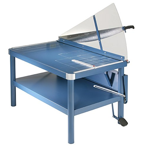 Dahle 585 Premium Guillotine Trimmer w/Stand, 43.25' Cut Length, 30 Sheet Capacity, Large Format,...