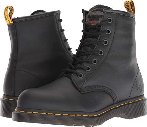 Dr. Martens Work Women's Maple Steel Toe Zip Black Newark 6 B UK B (M)