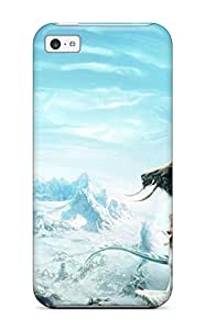 Amanda W. Malone's Shop 3454137K52836381 Design High Quality Snow Dragon Princess Cover Case With Excellent Style For Iphone 5c