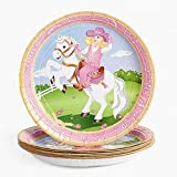 Pink Cowgirl Western Paper Plates (8 PC)