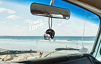 Broncos Pro Football Team Car Antenna Topper Mirror Dangler//Desktop Spring Stand Bobble//Auto Accessory Happy Face Antenna Ball