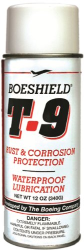 BOESHIELD T 9 Rust & Corrosion Protection/Inhibitor and Waterproof Lubrication, 12 oz.