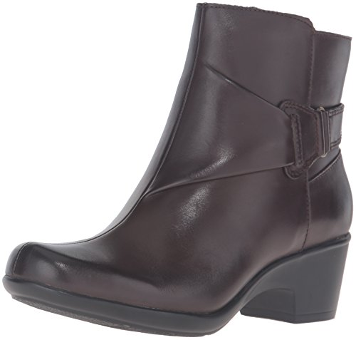 Malia Boot Brown Dark Women's McCall CLARKS Leather 5qwFOPt