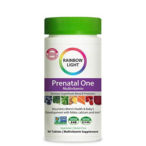 Rainbow Light Prenatal One Vitamins with Superfoods