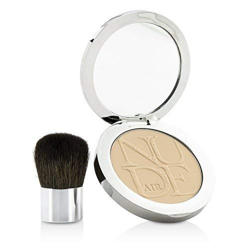 (Christian Dior Diorskin Nude Air Healthy Glow Invisible Powder (With Kabuki Brush) - # 020 Light Beige 10g/0.35oz)