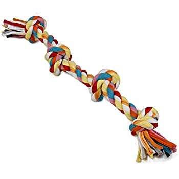 Amazon.com : Dogloveit Tug War Pull Chew Knotted Braided