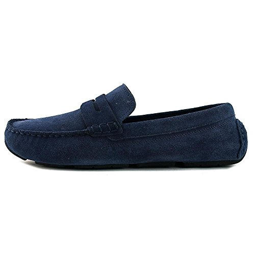 Cole Haan Kelson Penny Loafer Driver Blazer Scarpe Scamosciate Blu