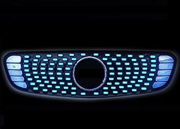 Nueva actualización LED parrilla frontal: Amazon.es: Coche y ...