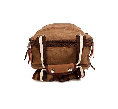 Studenten Umhängetasche Mann Tasche Leinwand Rucksack Mode