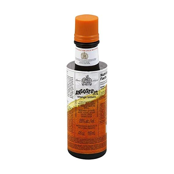 Angostura Bitters Orange 1 Low Calorie Low Cholesterol Low Saturated Fat