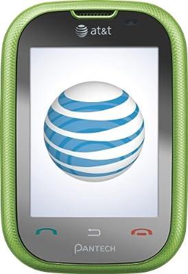Pantech Pursuit Cellular Phone Green AT&T