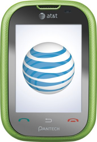Pantech Pursuit Phone, Green (AT&T)