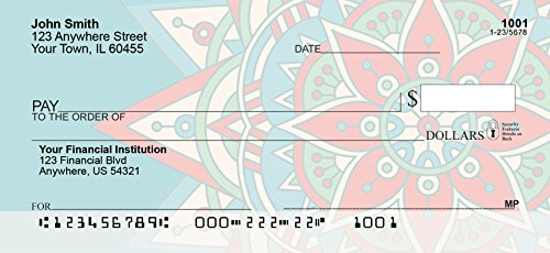 Personalized Checks - Mandala Personal Checks (1 Box Duplicates)