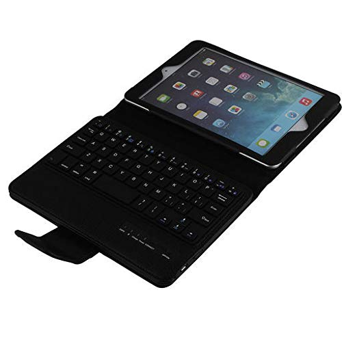 Lyperkin Ipad Air 10.5Inch Case with Wireless Bluetooth Keyboard, Premium Detachable Wireless Bluetooth Ipad Case Cover with Keyboard Compatible with Ipad Air 10.5Inch 2019