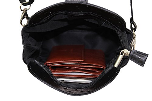 AMBRA Women's Moda Dark Cross Moda Body AMBRA Blue Bag dztqtw