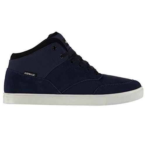 Freizeit Breaker Herren Turnschuhe Airwalk Skate Logo Marineblau Sneaker Schuhe Mid PBgxqUqwY