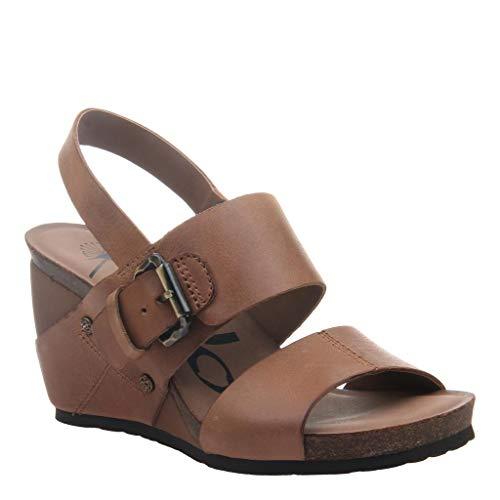 OTBT Women's Overnight Wedge Sandals - Cashew - 5.5 M US