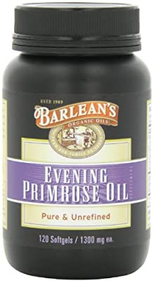 Barlean's Organic Oils Organic Evening Primrose Oil 1300 mg ea. Bottle