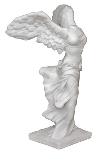 11 Inch Greek Goddess Nike Winged Victory of Samothrace Resin Statue (Victory Goddess)