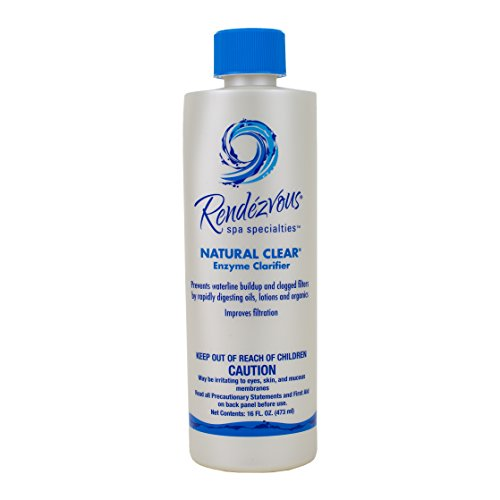 Clear Clarifier Spa (Rendezvous Spa Natural Clear (Enzyme) PINT)