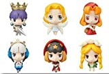 Odin Sphere & Princess Crown Trading Figures Game Characters Collection - Display of 12