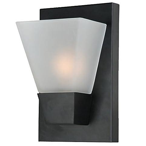 1 light matte black modern style pocket wall sconce amazon 1 light matte black modern style pocket wall sconce aloadofball Choice Image