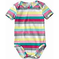 Body Bebê Feminino Zig Zig Zaa Estampado Amarelo/rosa/verde P