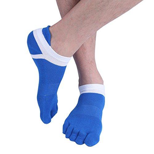 Unisexe Pour Tiaobug Paires Yoga Chaussettes Doigts De À Coton Femme Sport En Homme Randonnée Socquettes Respirant Coloré Confortable Bas 5 FaaqrwE