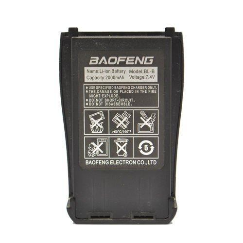 ExpertPower Standard Battery for UV-B Radio Series (Model: BL-B, Capacity: 2000 mAh)