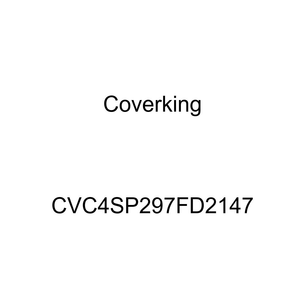 Coverking CVC4SP297FD2147 2-Tone Black-Blue Stormproof Custom Vehicle Cover