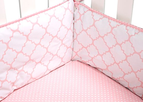Trend Lab Pink Sky Crib Bumpers by Trend Lab