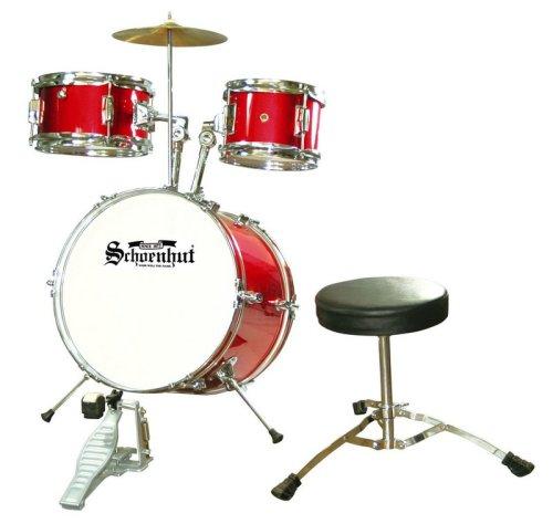 Schoenhut C1020 - 5 Piece Drum Set (Red)