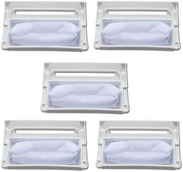 Fantisi 5 unids piezas de repuesto para una lavadora adecuada para LG lavadora filtro 5231FA2239N-2S.W.96.6 para piezas LG lavadora