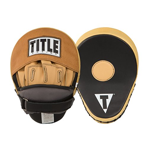 TITLE Genuine Leather Super Punch Mitts by Title Boxing